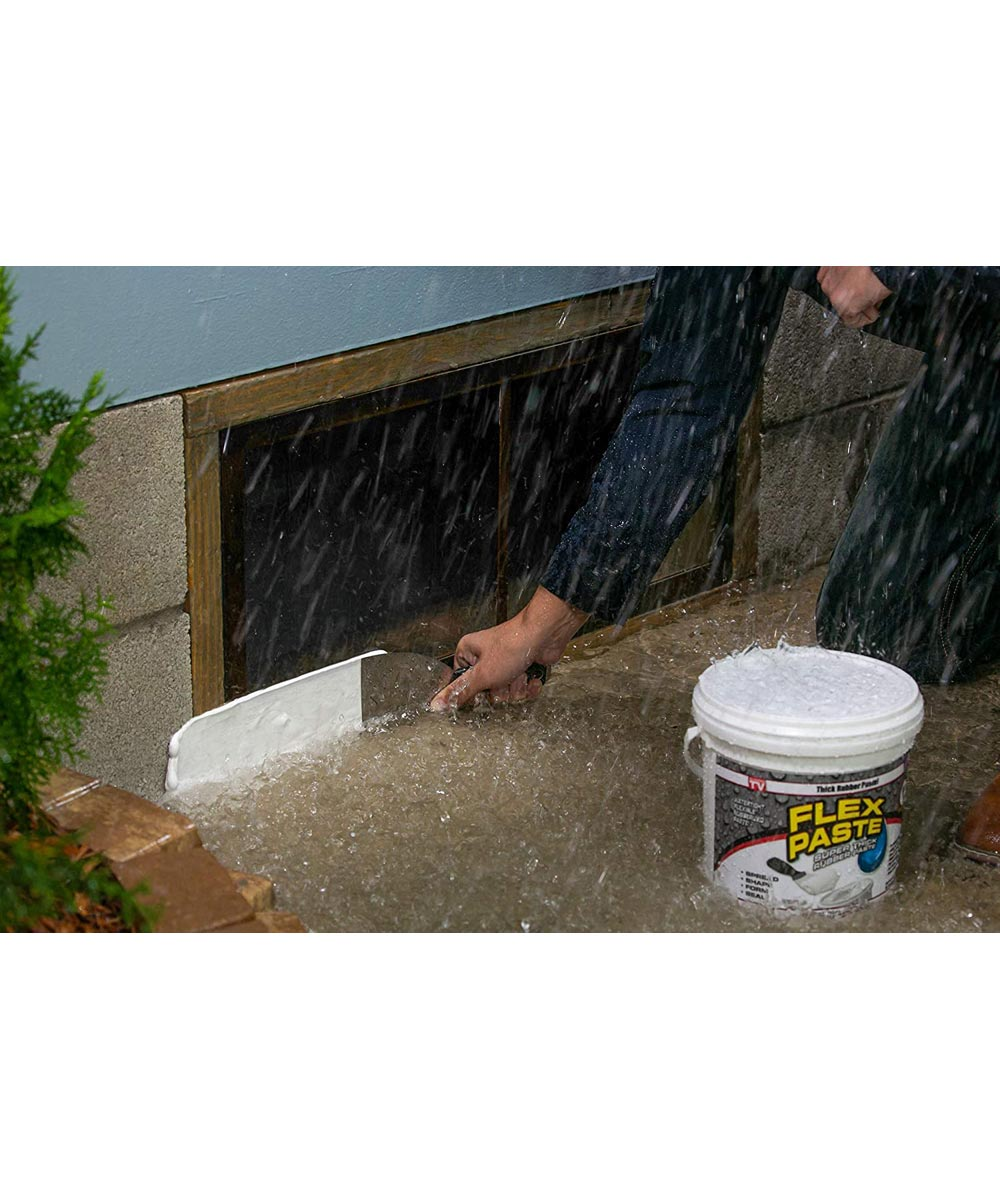 1 lb. Waterproof Flex Paste, Black