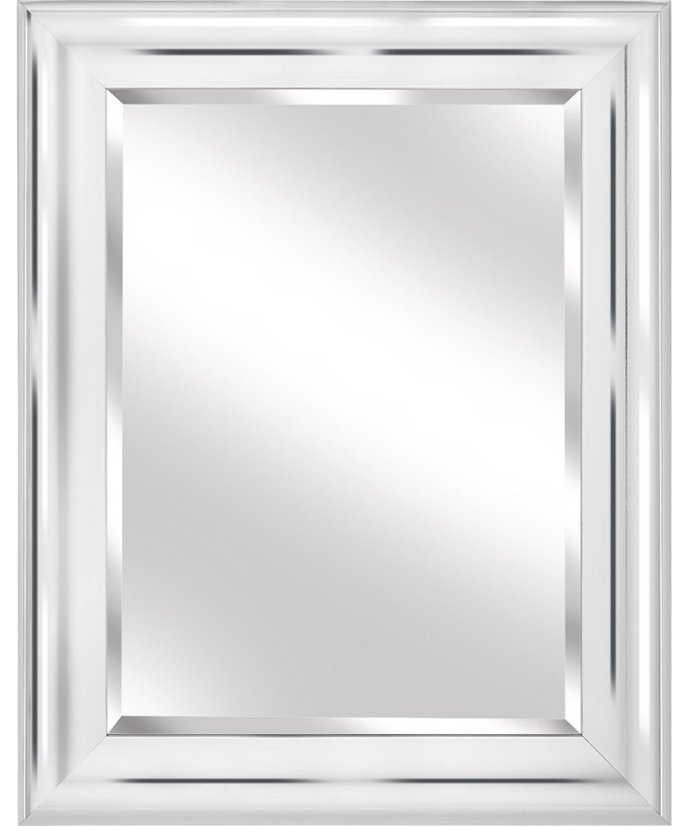 Simple Framed Wall Mirror, 35 in. (L) x 28 in. (W), Rectangle