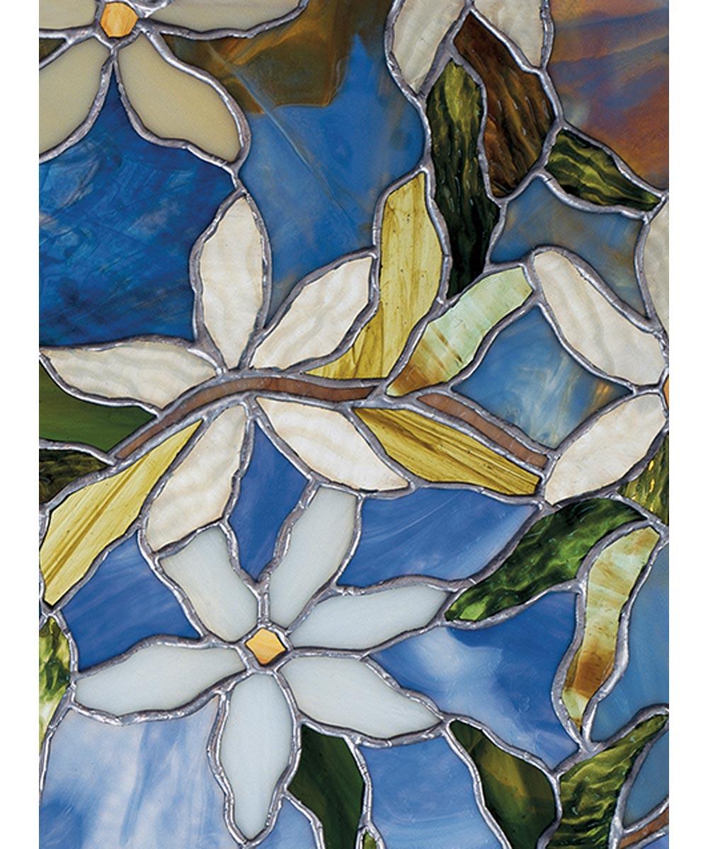 Clematis Decorative Window Film, 24 in. (W) x 36 in. (L)