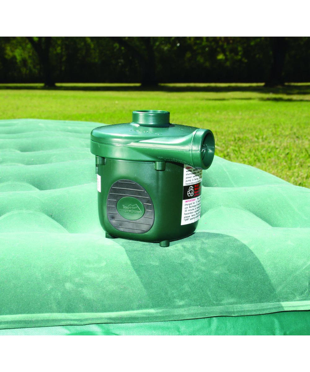 Texsport Dual Rechargeable Electric Air Pump