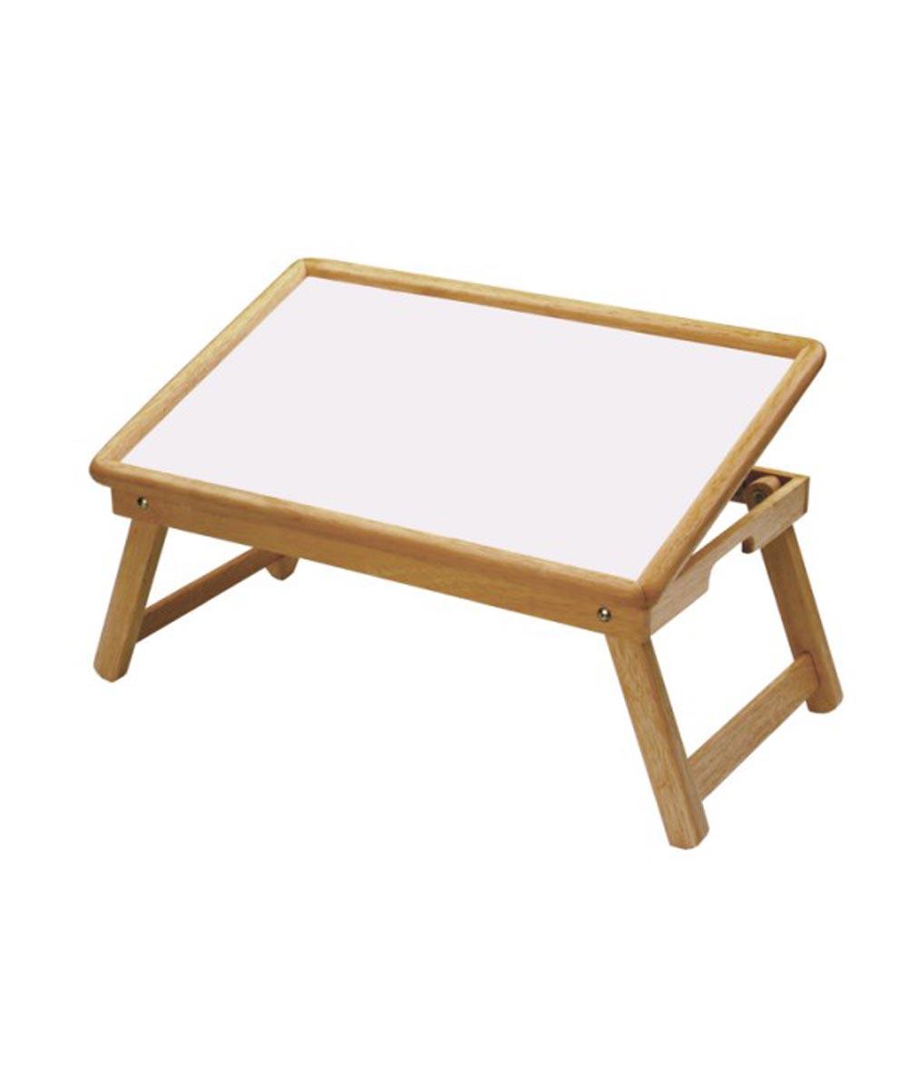 Beechwood & White Melamine Bed Tray