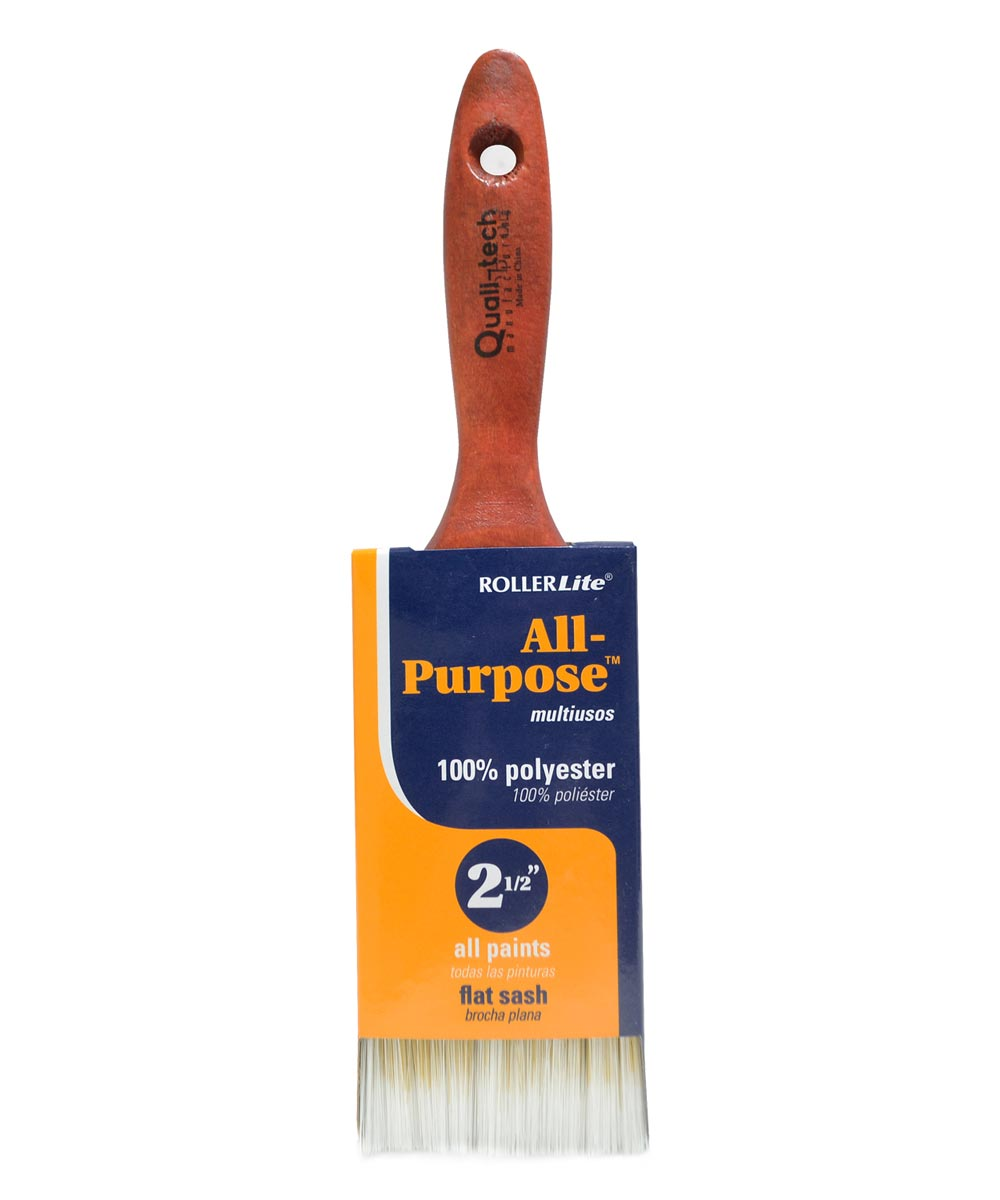 RollerLite 2-1/2 in. All Purpose Polyester Paint Brush