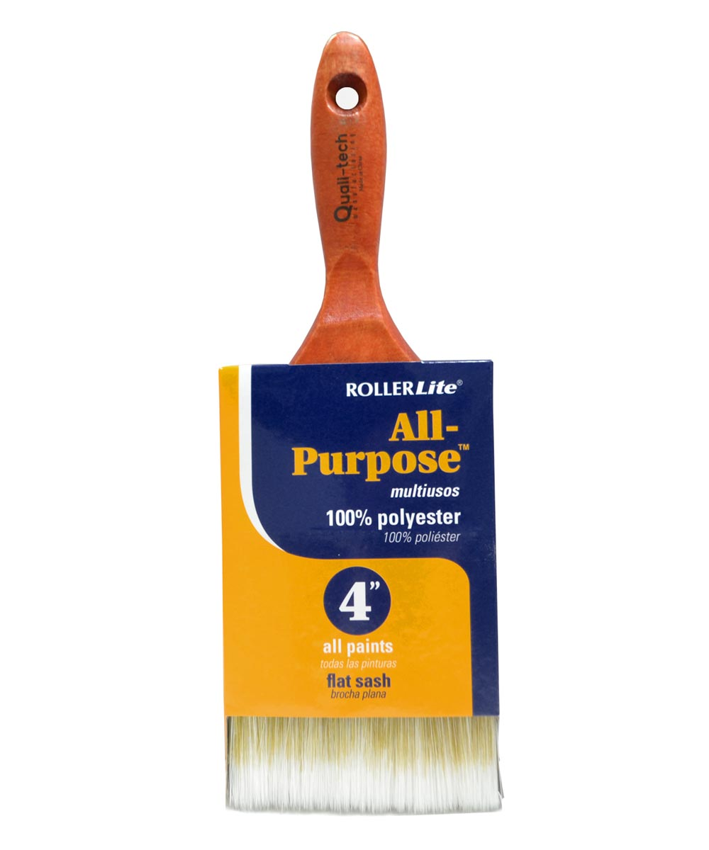 RollerLite 4 in. All Purpose Polyester Paint Brush