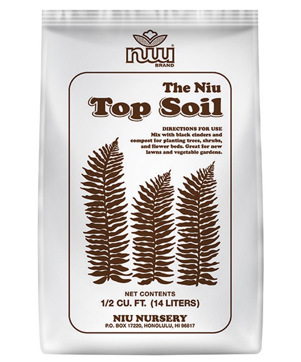 Niu Top Soil, 1/2 cu. ft.