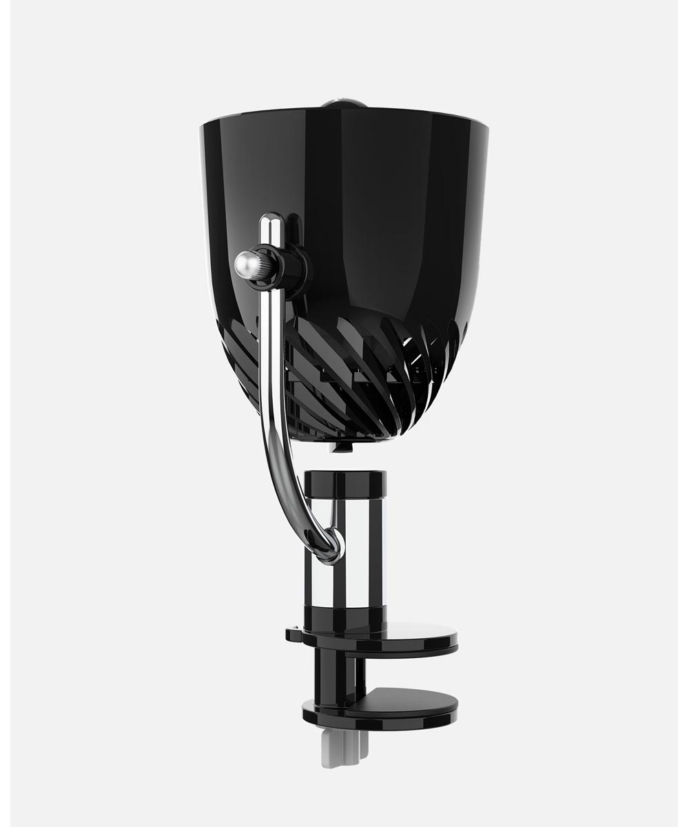 PIVOT Clip Personal Air Circulator, Black