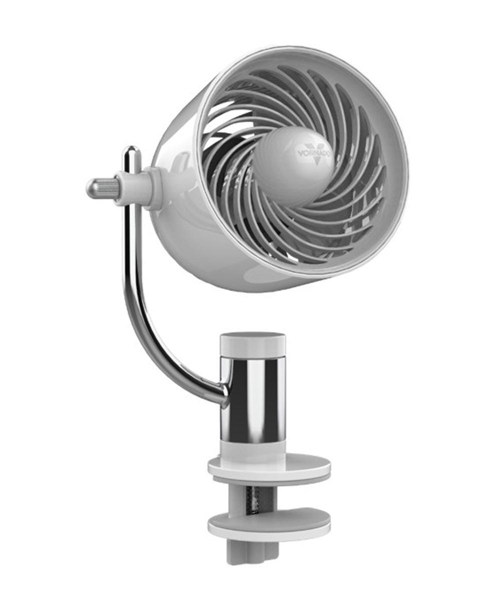 PIVOT Clip Personal Air Circulator, White