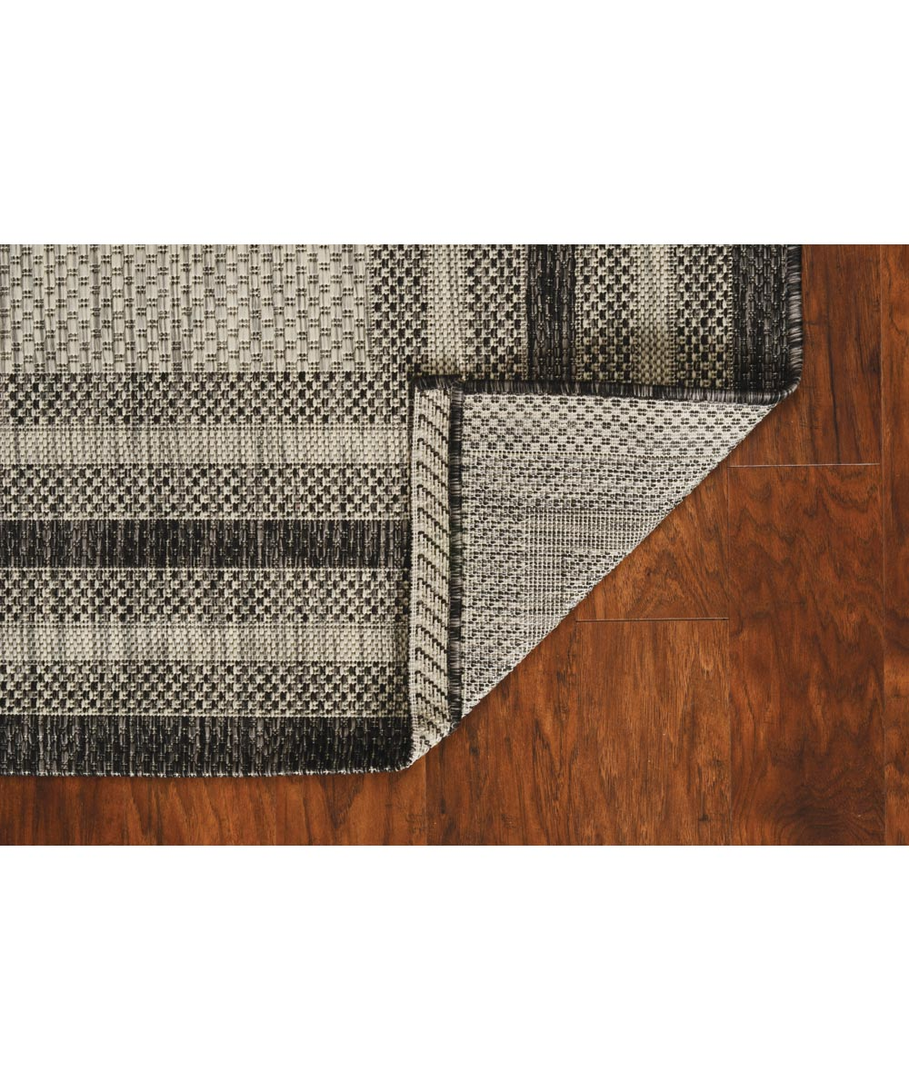 KAS 5 ft. x 7 ft. 7 in. Provo Grey Cape Cod Area Rug