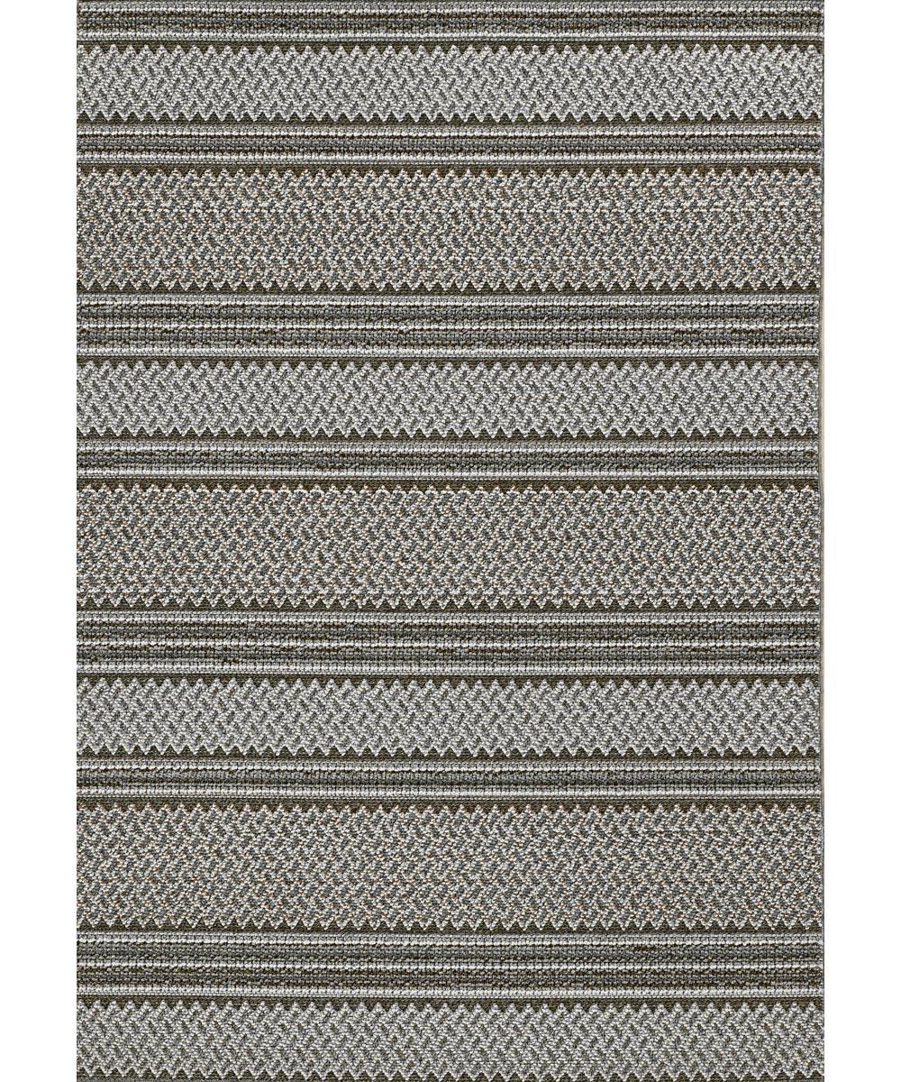 KAS 5 ft. x 7 ft. 6 in. Terrace Grey Horizon Area Rug