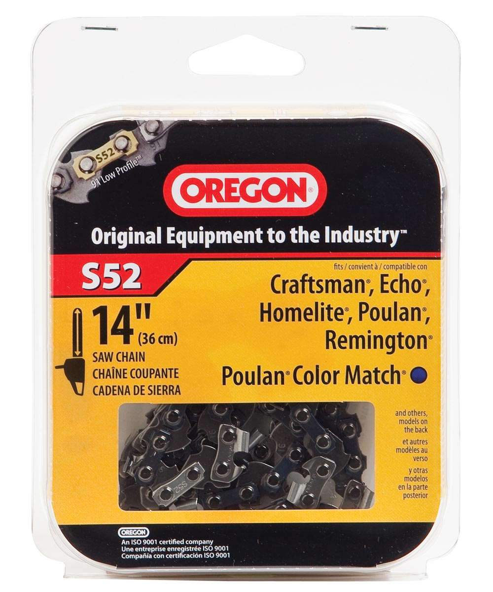 14 in. Semi Chisel Cutting Chain, 91VG 52 DR Link