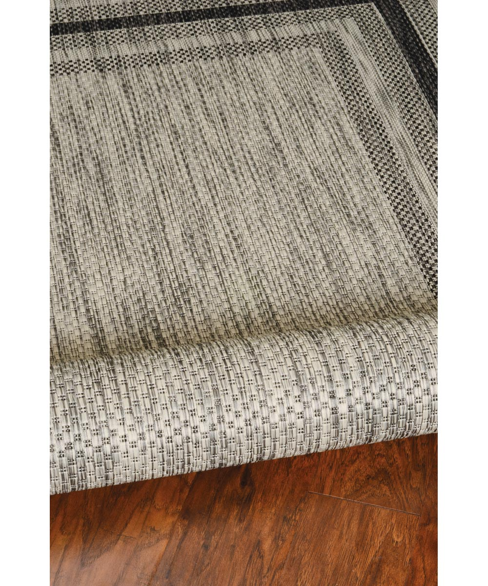 KAS 3 ft. 3 in. x 4 ft. 11 in. Provo Grey Cape Cod Area Rug