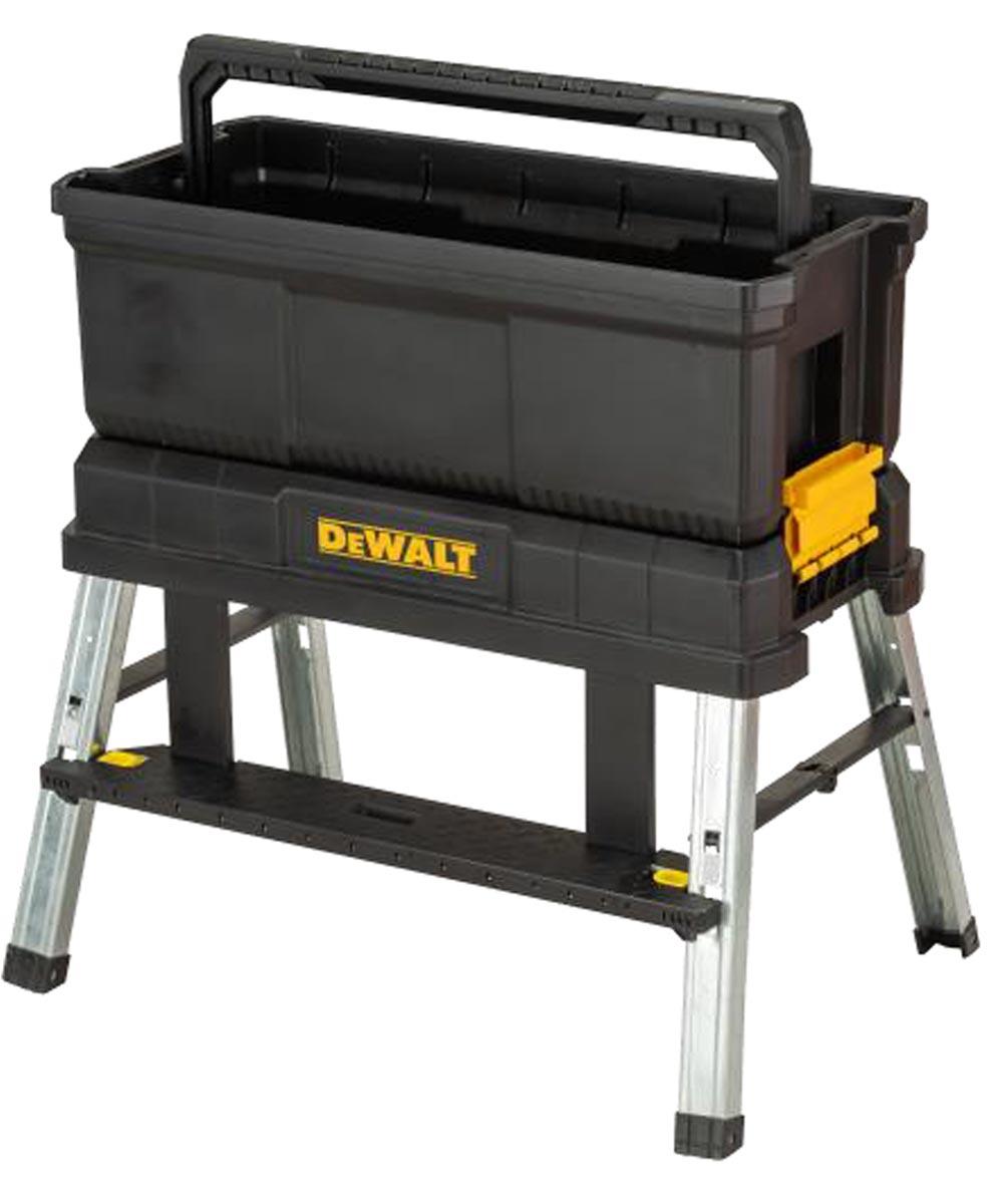DEWALT 3-in-1 Storage Step Stool Tool Box, 25 in.