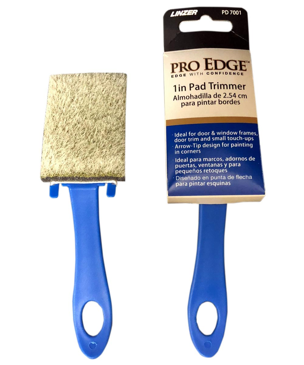 Linzer Products 1 in. Pro Edge Trim Pad Painter