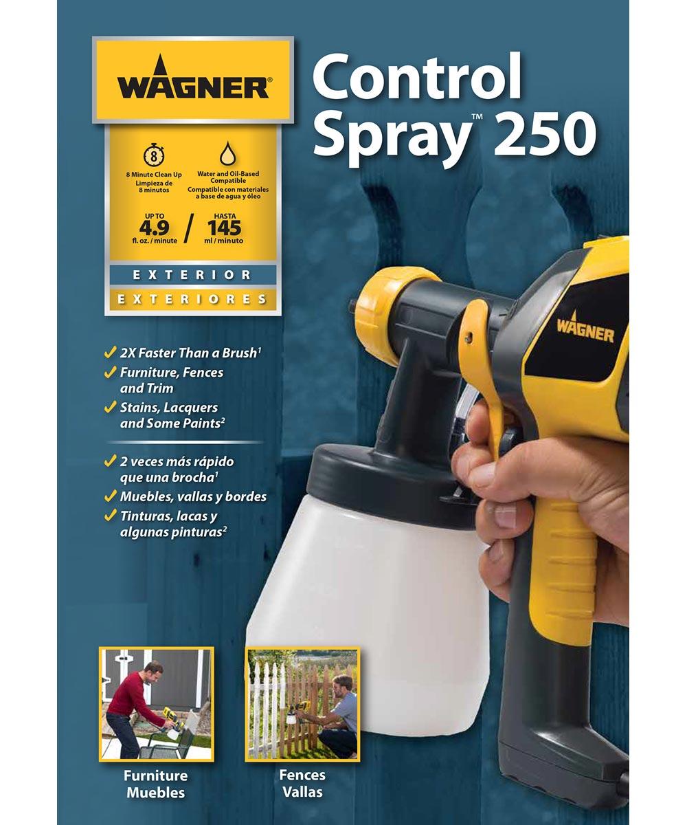 Wagner Control Spray 250 Handheld Paint Sprayer