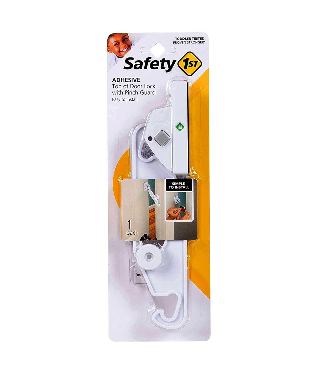 Safety 1st White Top Of Door Lock