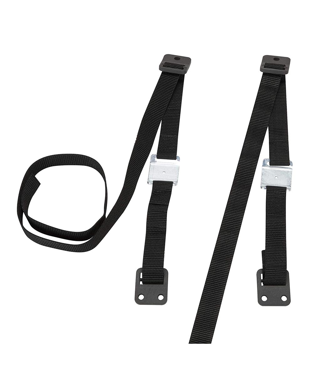 Safety 1st 53 in. Black TV & Furniture Safety Straps, 2 Count