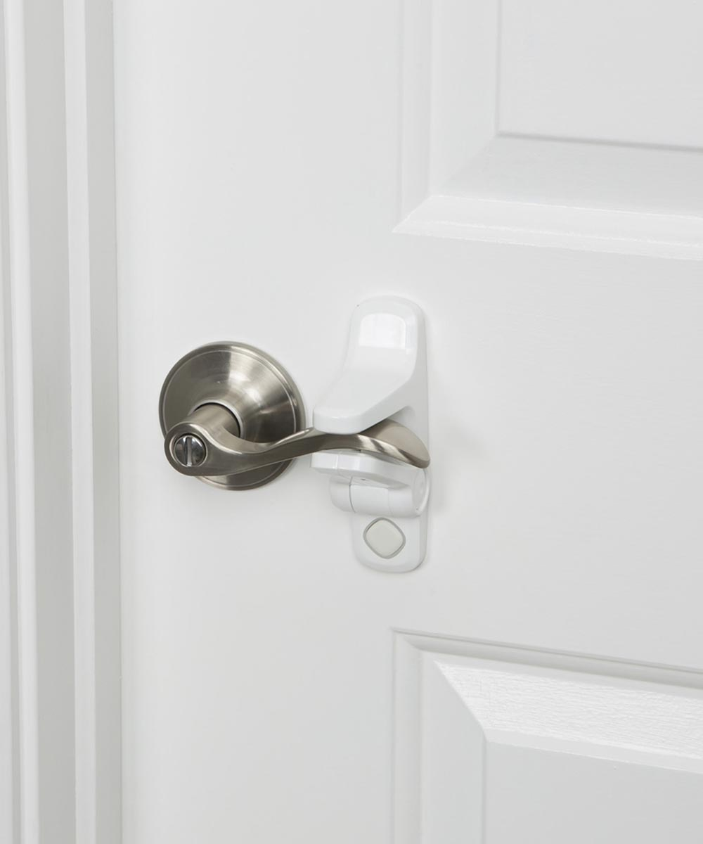 Safety 1st White OutSmart Lever Lock, 2 Count