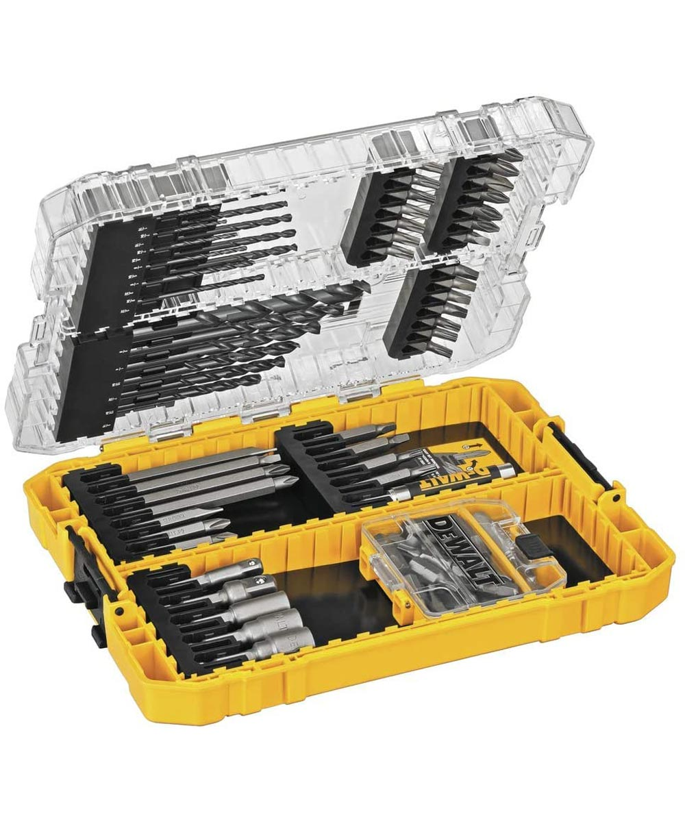 DEWALT 80 Piece Pro Drilling & Driving Bit Set with ToughCase Storage Case