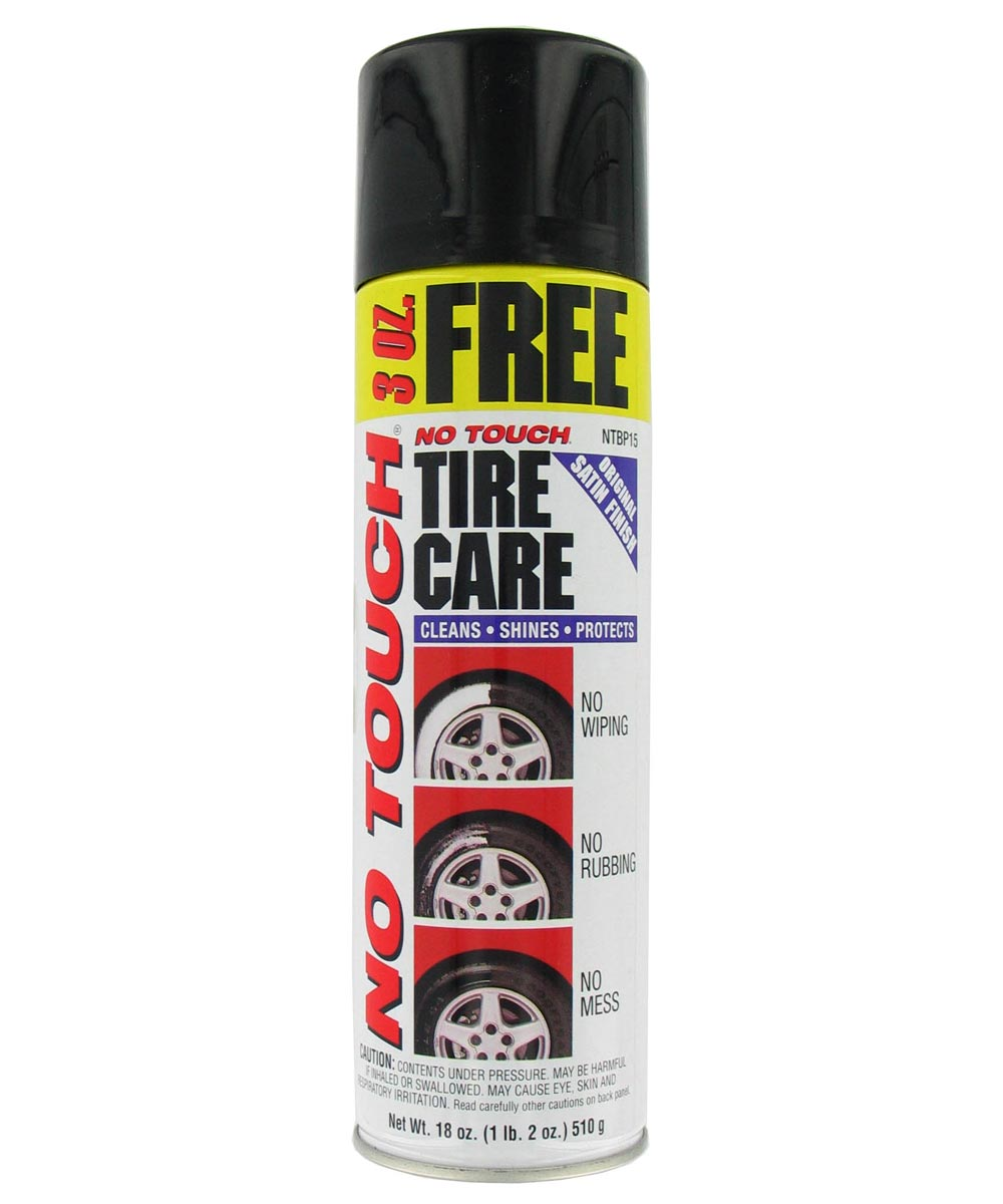 No Touch Tire Care Foam Cleaner, 18 oz.