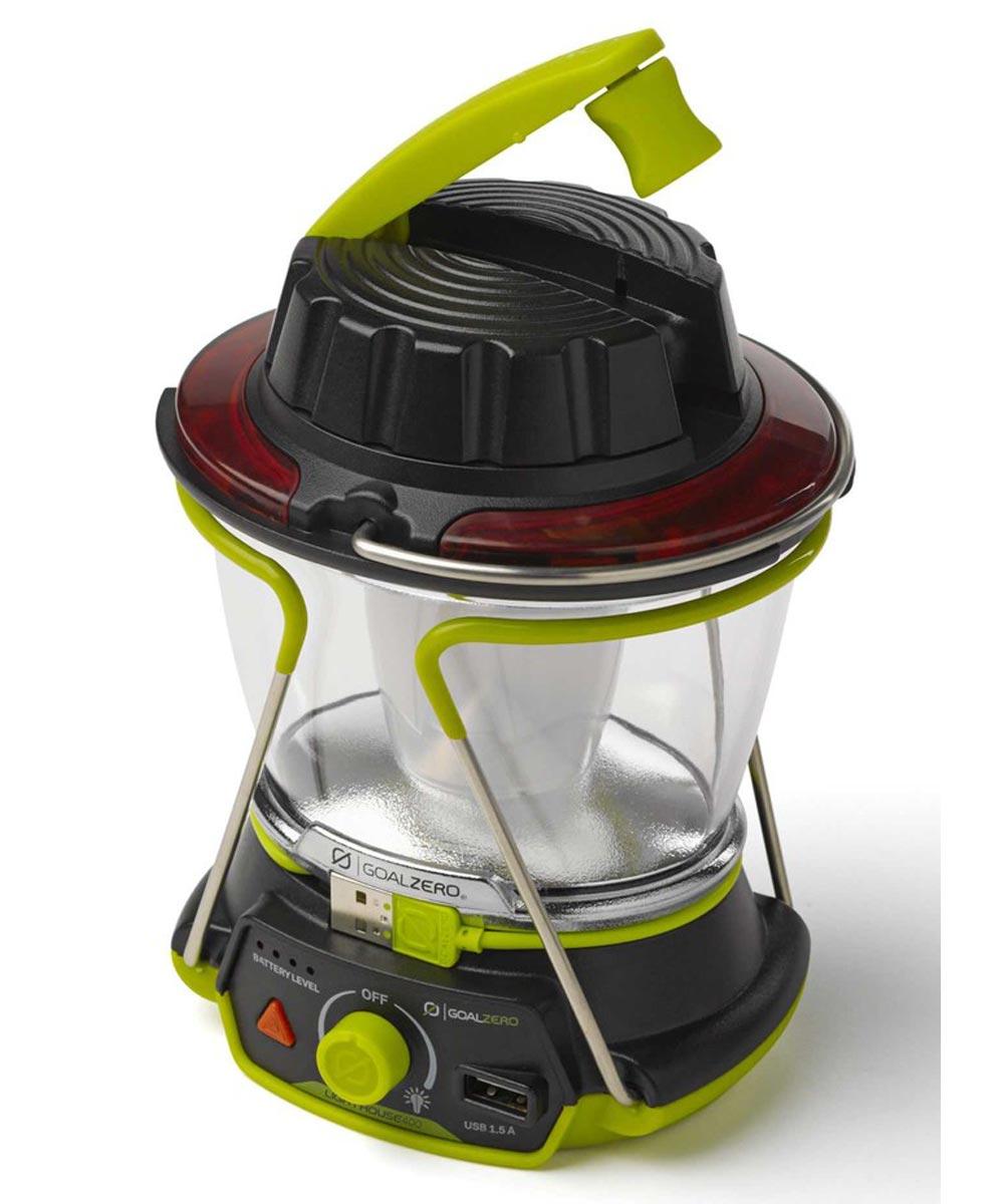 Goal Zero Lighthouse 400 Lumen Compact USB / Hand Crank Rechargeable Lantern & USB Power Hub