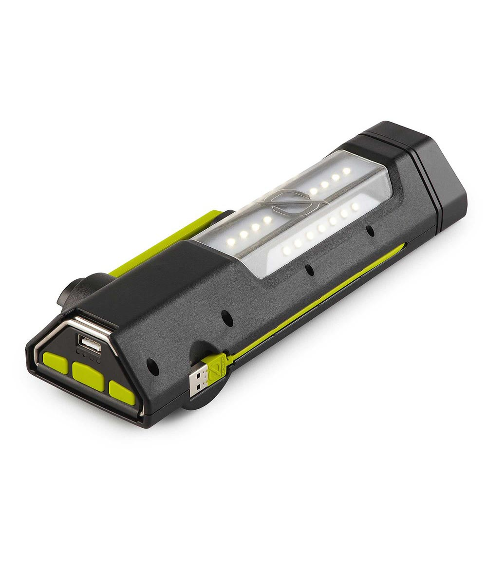 Goal Zero Torch 250 Lumen Solar / USB / Hand Crank Rechargeable Flashlight & USB Power Hub
