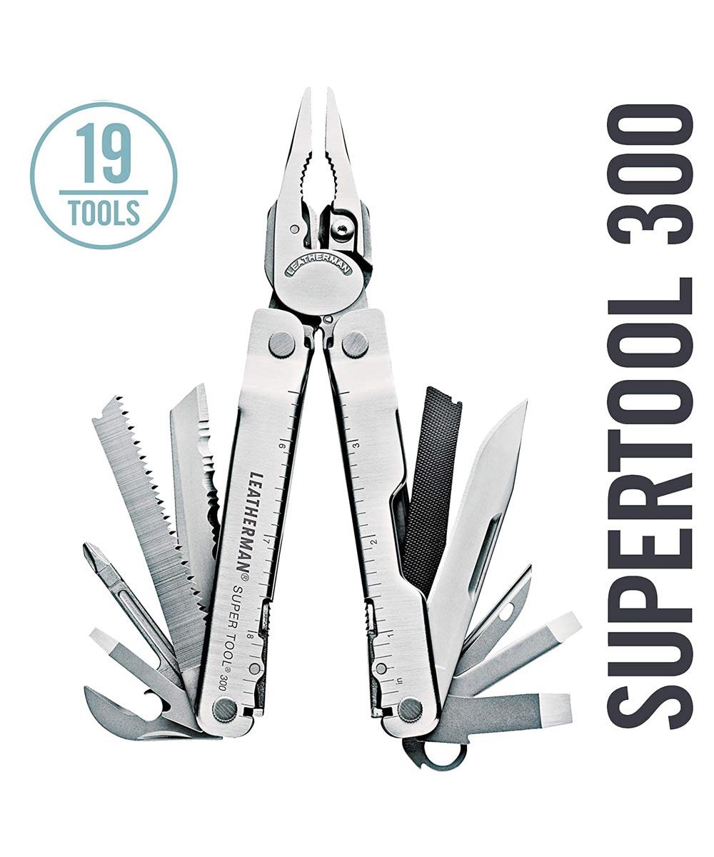 Leatherman Super Tool 300 Multi Tool, Silver