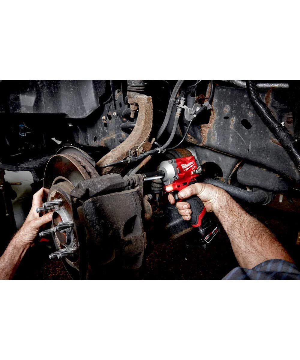 Milwaukee M12 FUEL Brushless Cordless Stubby 3/8 in. Impact Wrench, Tool Only (No Battery or Charger)