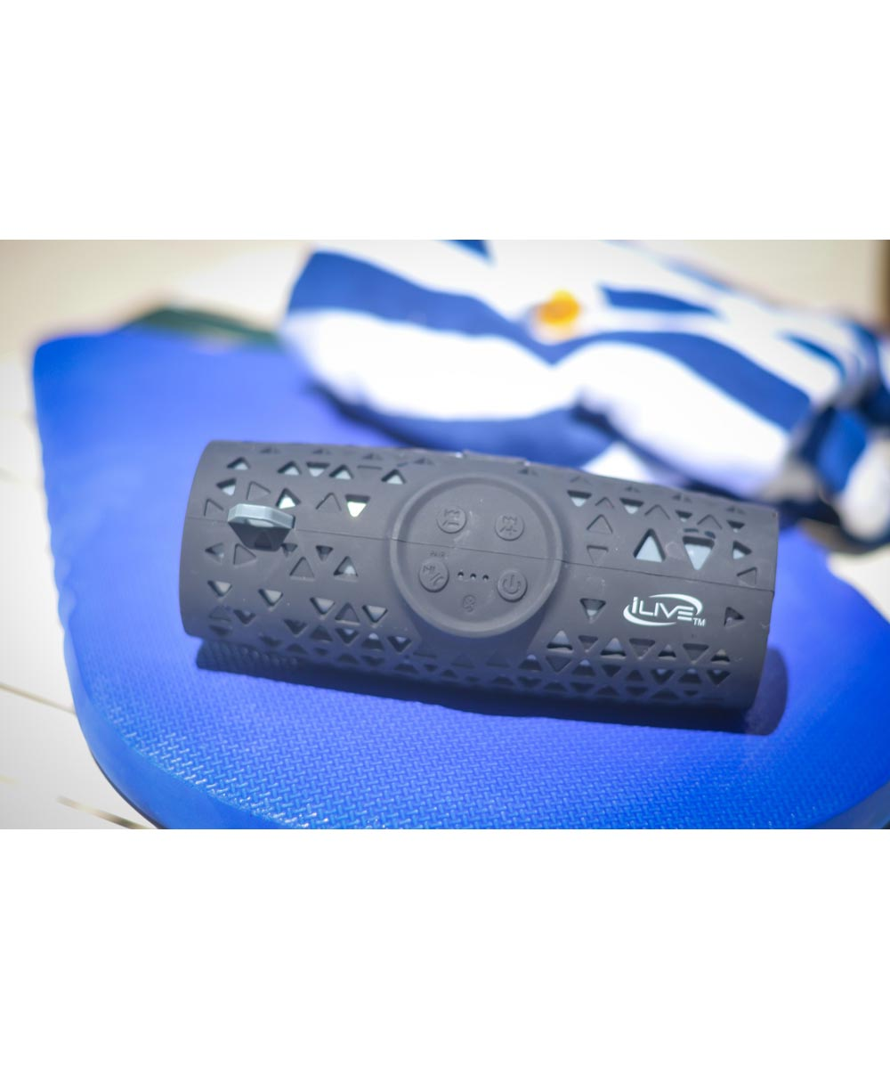 iLive IP66 Sand / Mud / Water Proof Portable Bluetooth Wireless Speaker