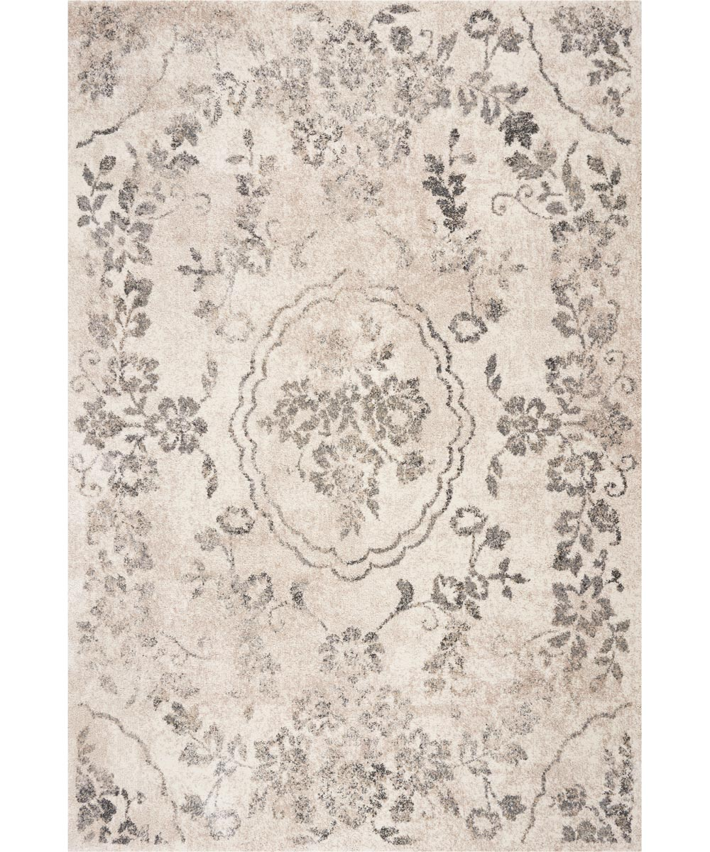 KAS 4 ft. 5 in. x 6 ft. 5 in. Hue Grey Timeless Area Rug