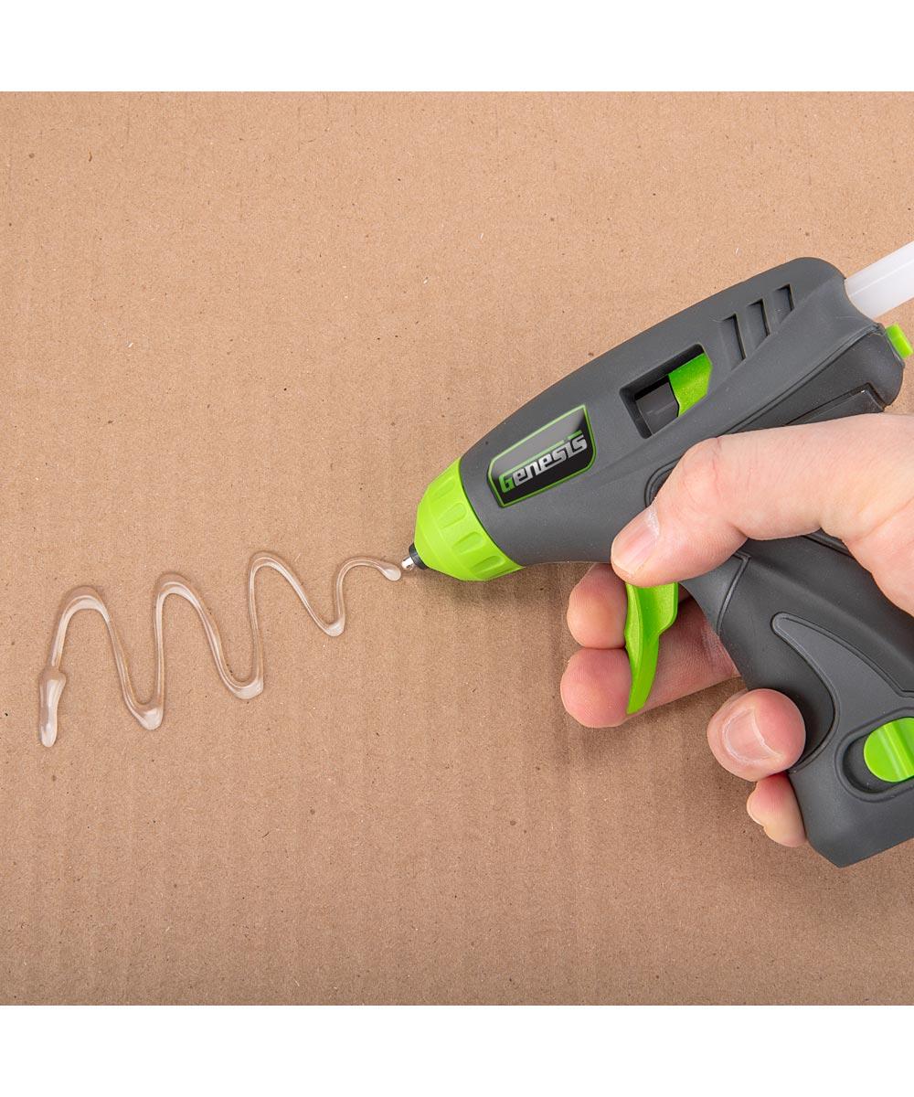 Genesis 8V Lithium-Ion Cordless Cordless Glue Gun Kit