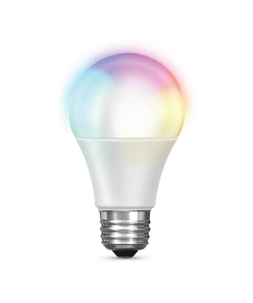 Feit Electric 60 Watt E26 A19 800 Lumen RGBW Color Changing Smart Wifi LED Light Bulb (Alexa & Google Compatible)