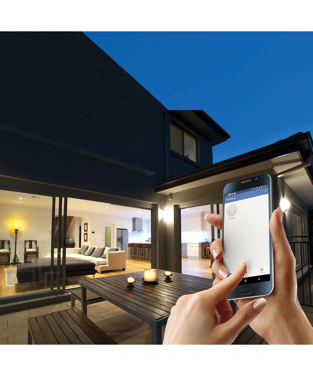 Feit Electric 3-Pack 60 Watt E26 A19 800 Lumen 5000K Smart Wifi LED Light Bulbs (Alexa & Google Compatible)