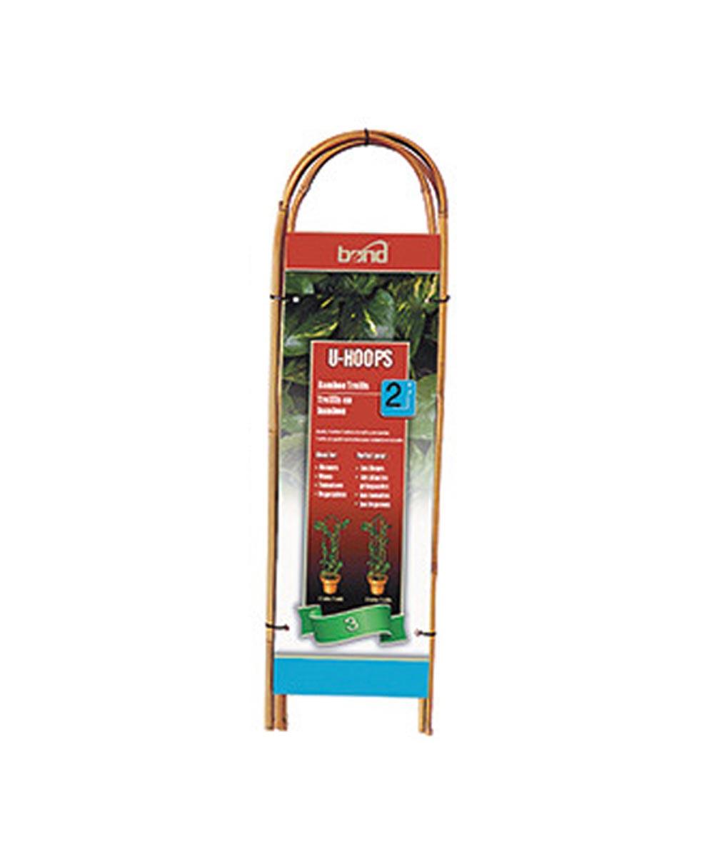 Bond Bamboo U-Hoop Trellis, 2 ft.