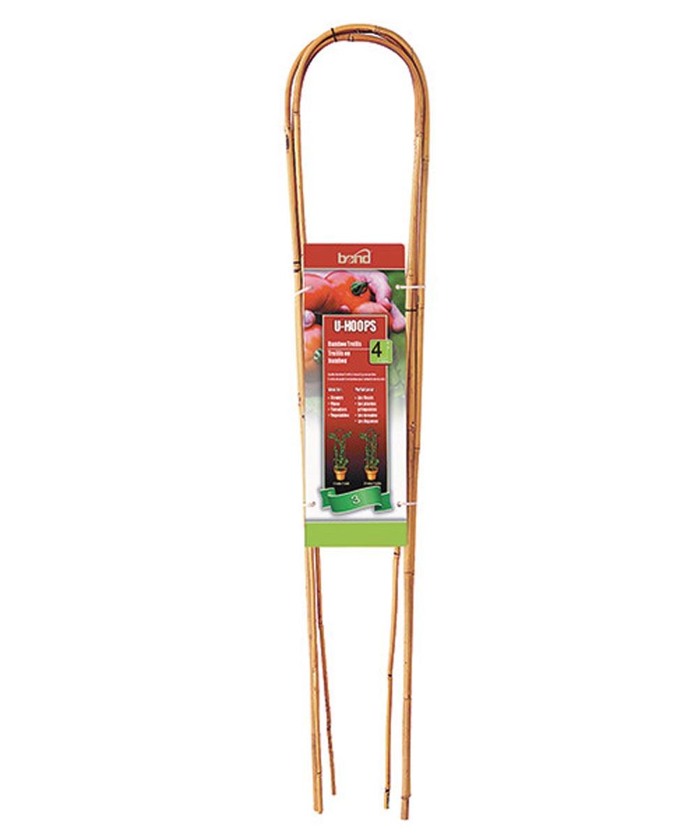 Bond Bamboo U-Hoop Trellis, 4 ft.
