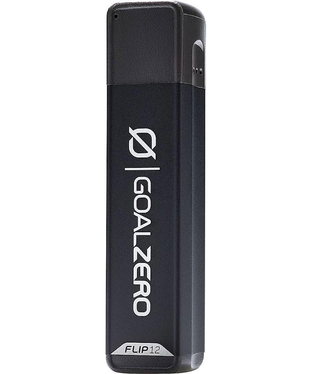 Goal Zero Flip 12 Power Bank 3,350 mAh Portable Charger, Black