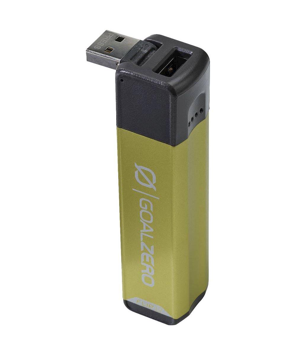 Goal Zero Flip 12 Power Bank 3,350 mAh Portable Charger, Green
