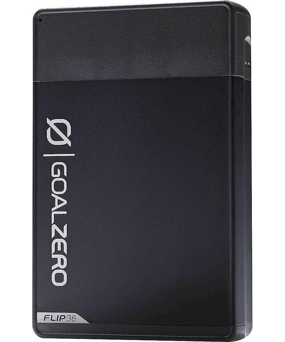 Goal Zero Flip 36 Power Bank 10,050 mAh Portable Charger, Black