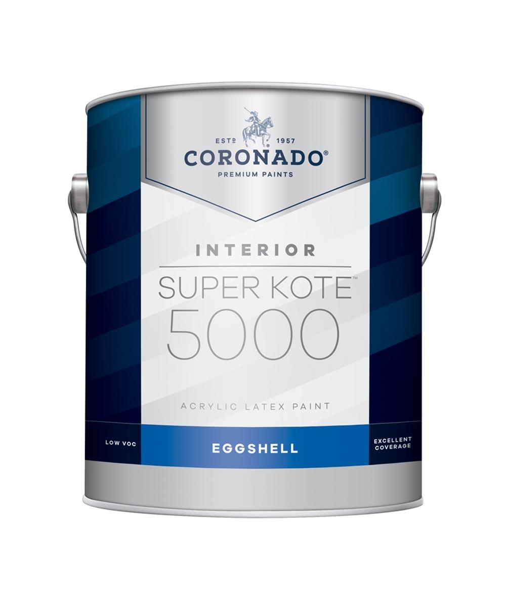 1 Gallon Super Kote 5000 Interior Eggshell White Paint