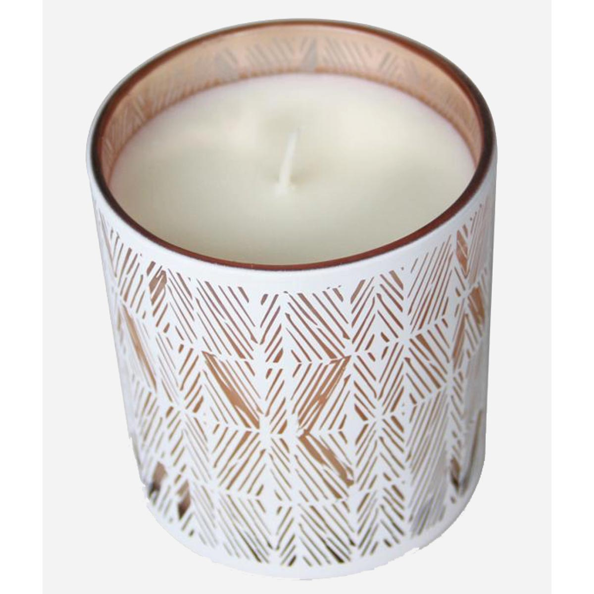 Noho Home 8 oz. Gardenia Scented Soy Candle