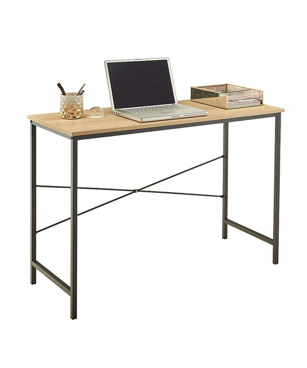 ClosetMaid 43 in. Wide Console Table / Desk, Natural Finish