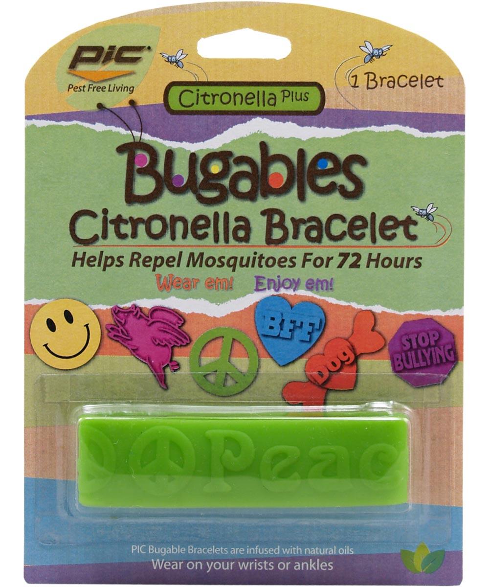 Citronella Mosquito Repellent Bracelet