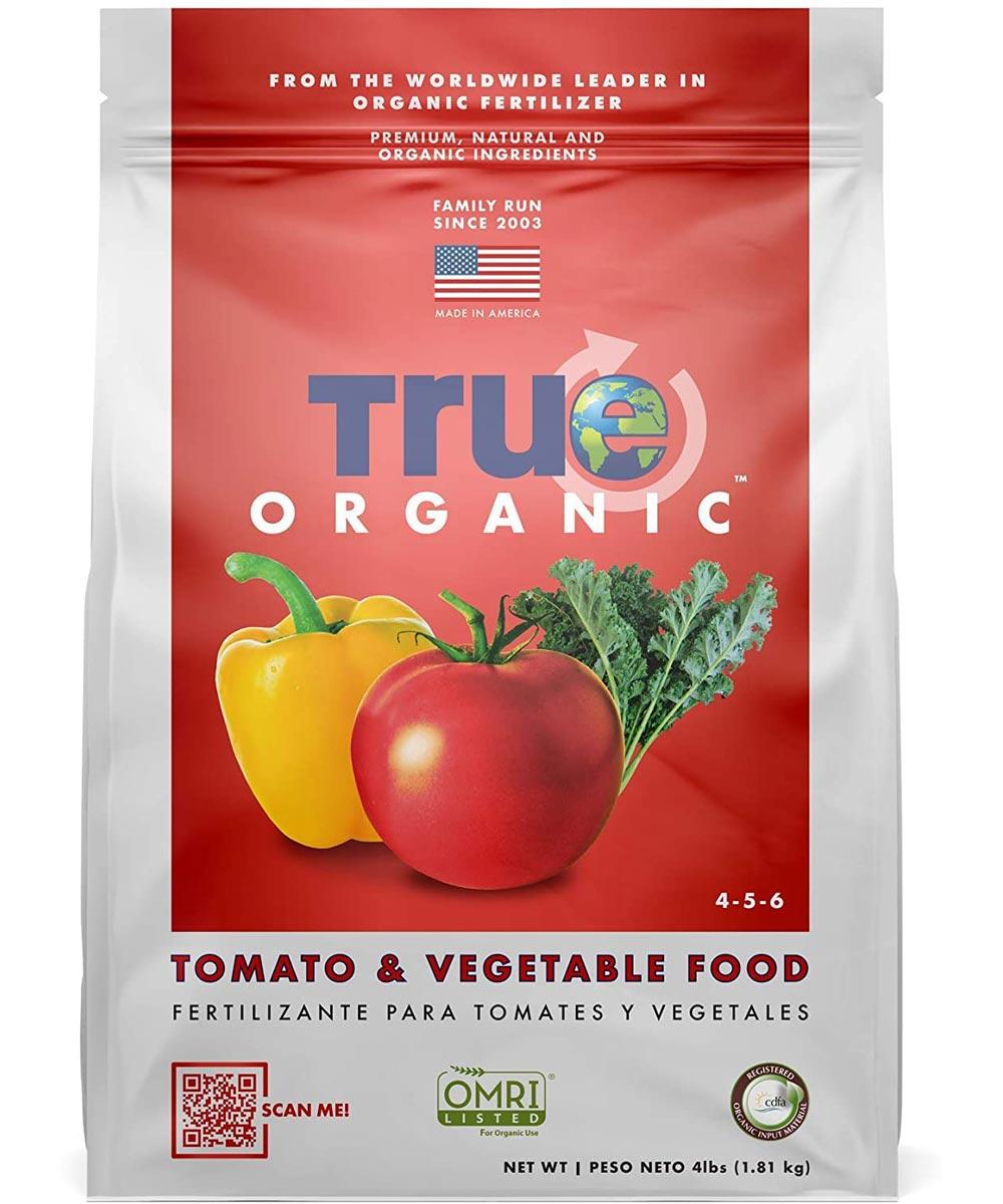 True Organic 4 lb. Tomato & Vegetable Food, 4-5-6