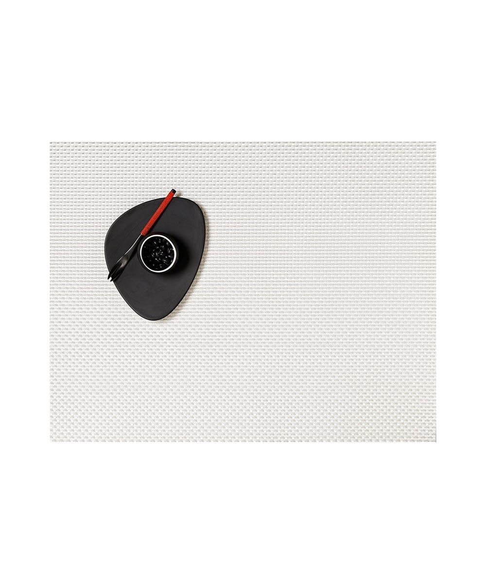 Chilewich Basketweave Table Mat, White