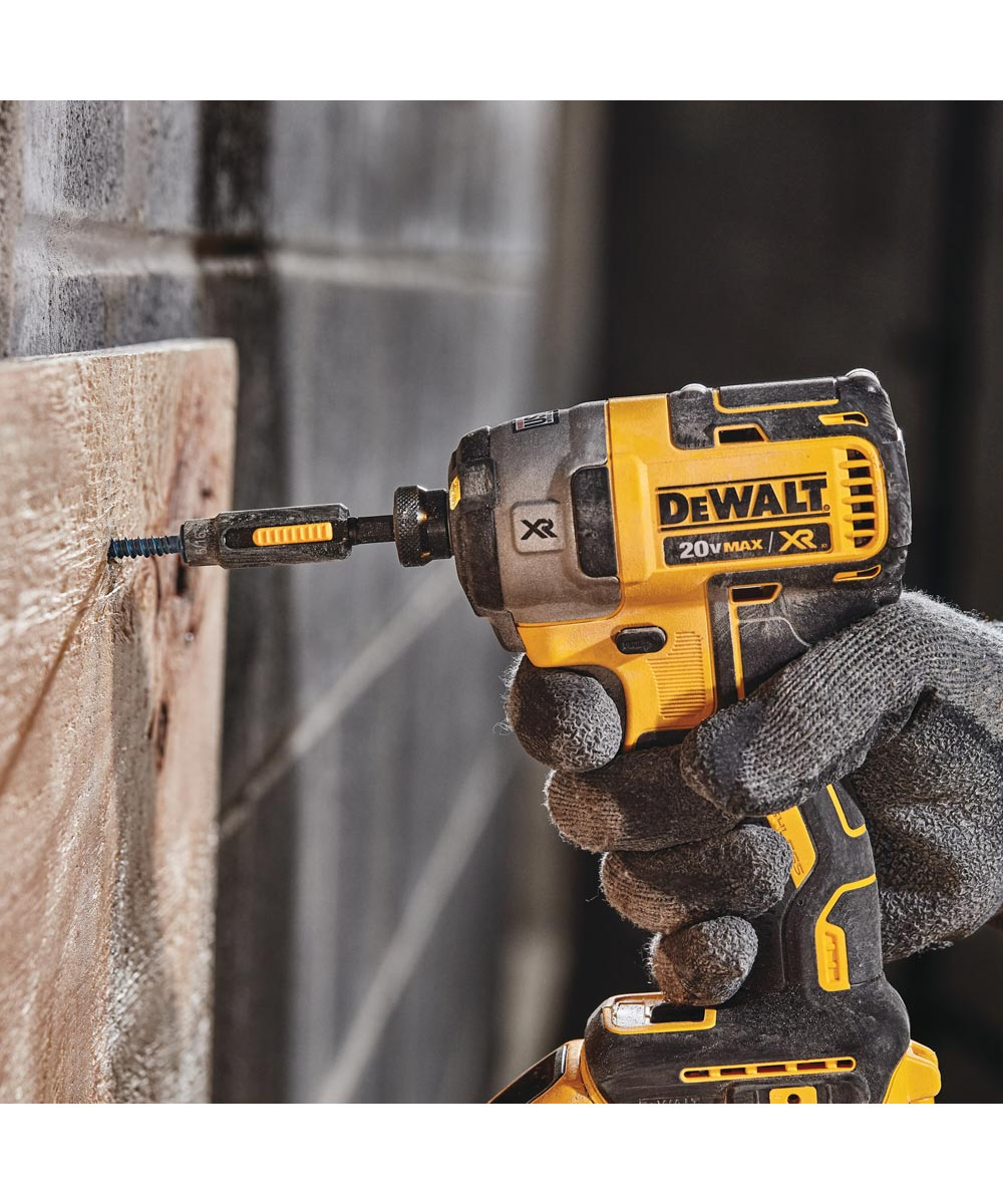 DEWALT 20V MAX* FLEXVOLT ADVANTAGE Brushless Cordless Hammer Drill & Impact Driver Kit with Charger & 2 Batteries