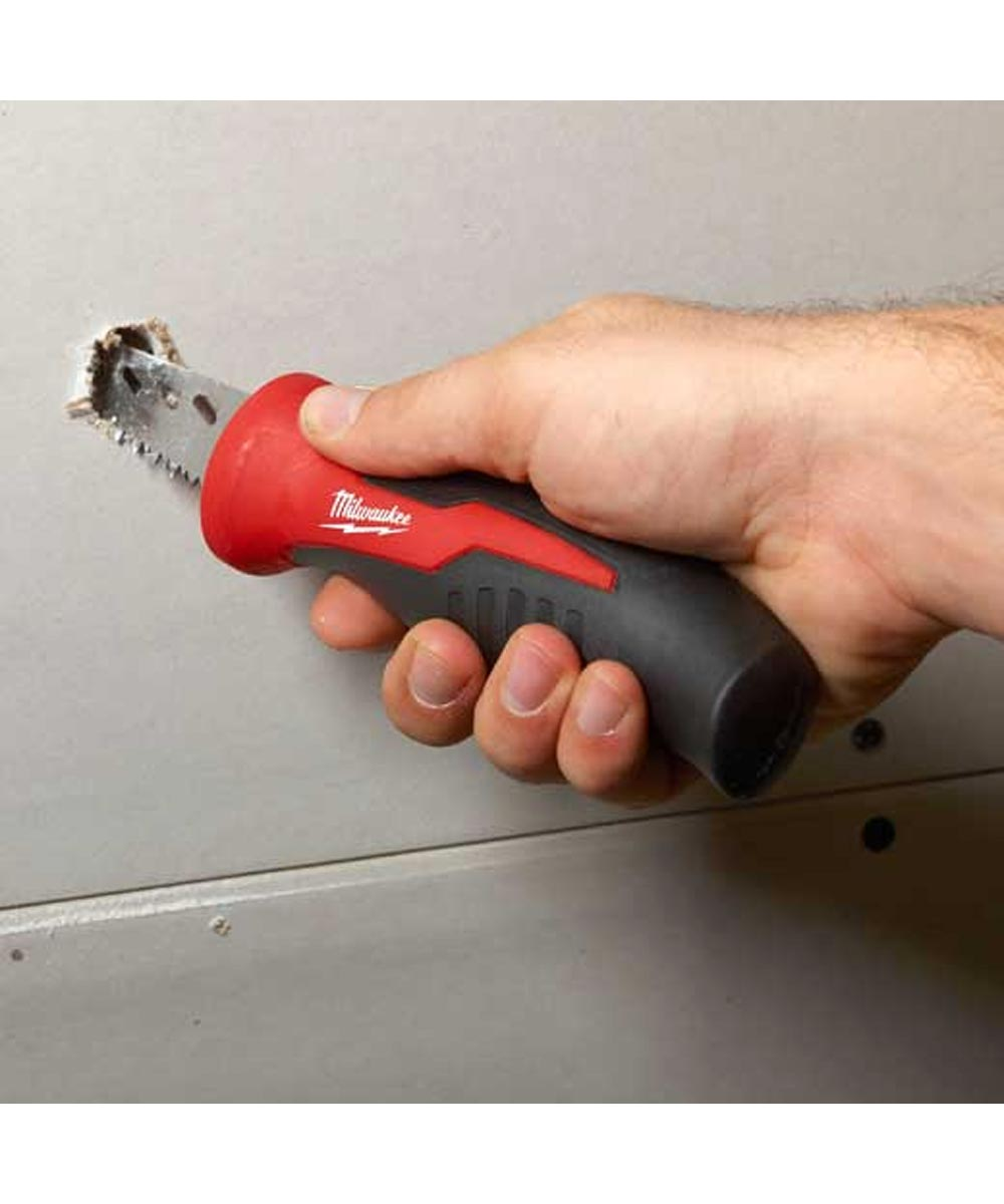 Milwaukee Combo Fastback Compact Flip Utility Knife & 6 in. Fixed Jab Saw