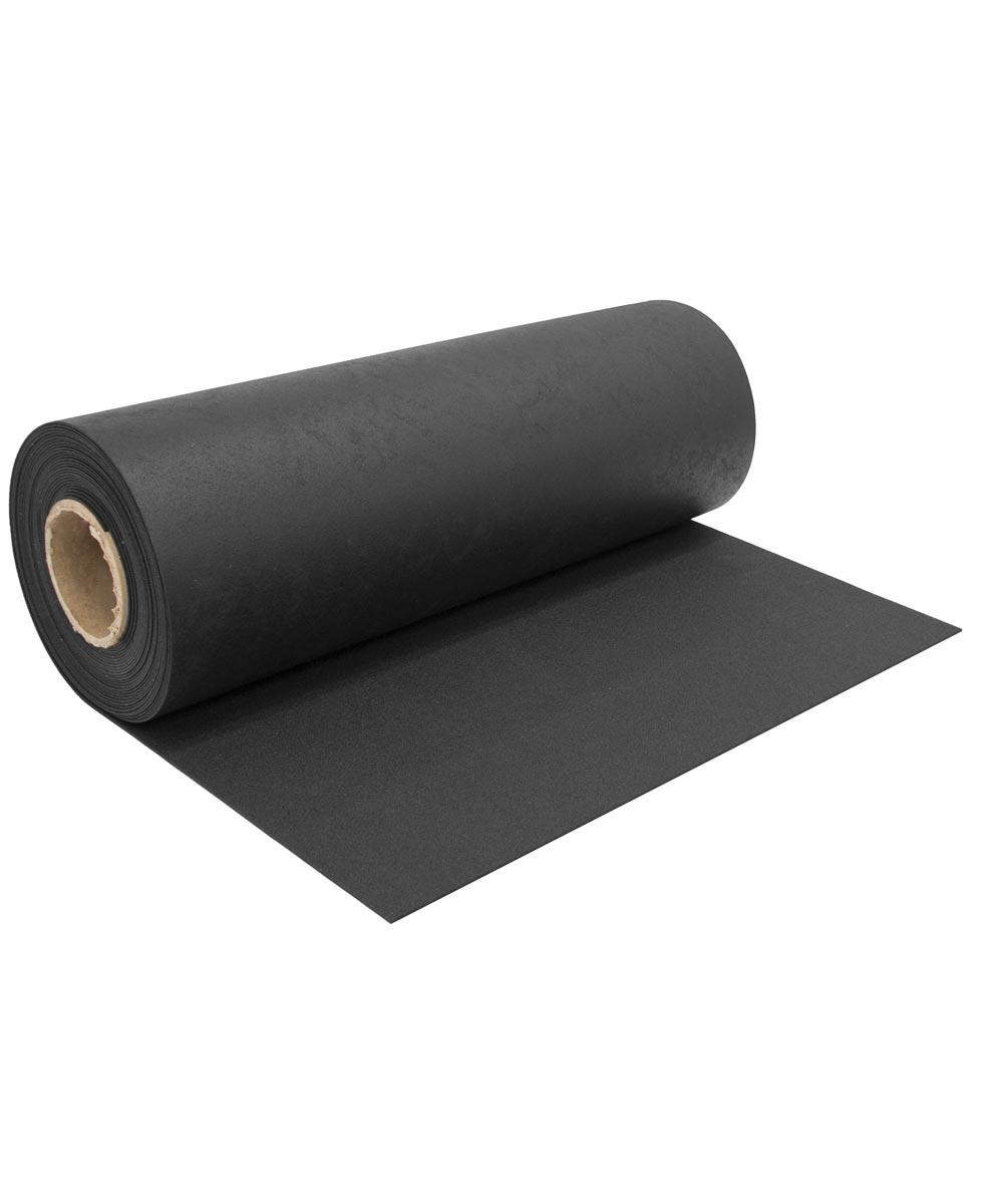Multy 27 in. Wide Black Rubber Runner (Sold per Foot)