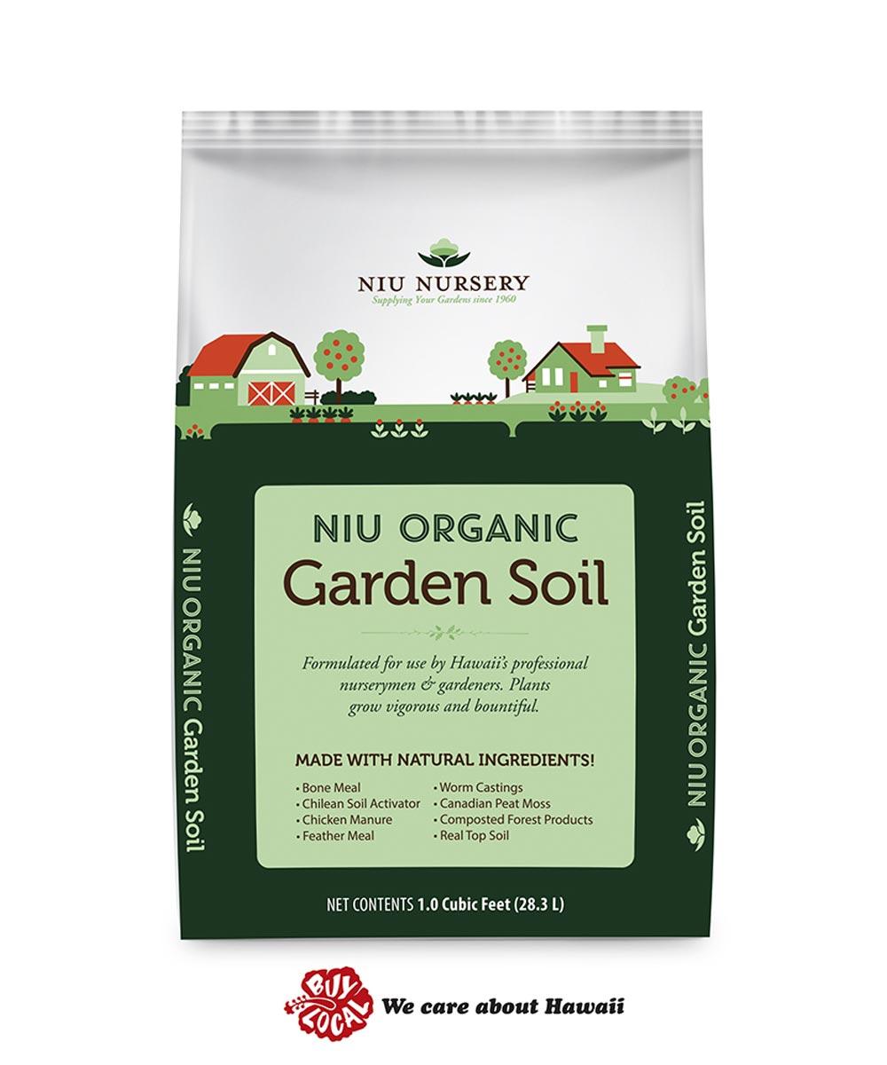 Niu Organic Garden Soil, 1 cu. ft.