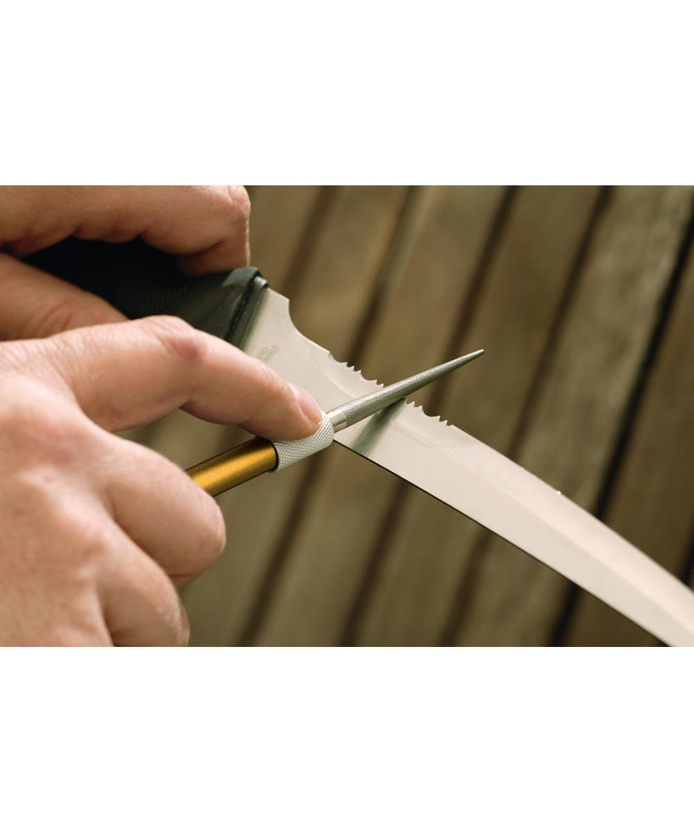 Smith's Diamond Retractable Knife Sharpener