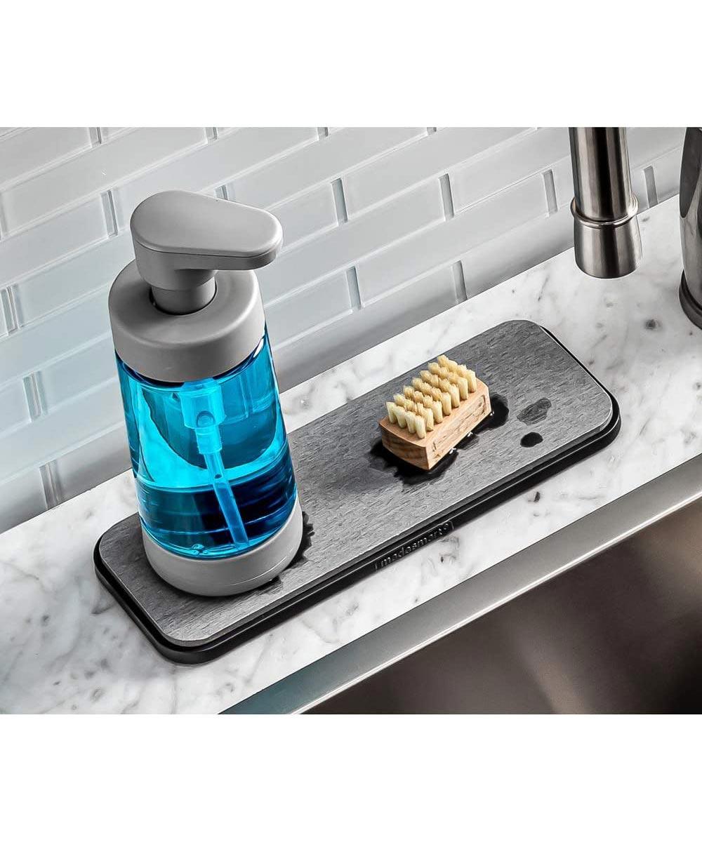 Foaming Soap Pump, Gray