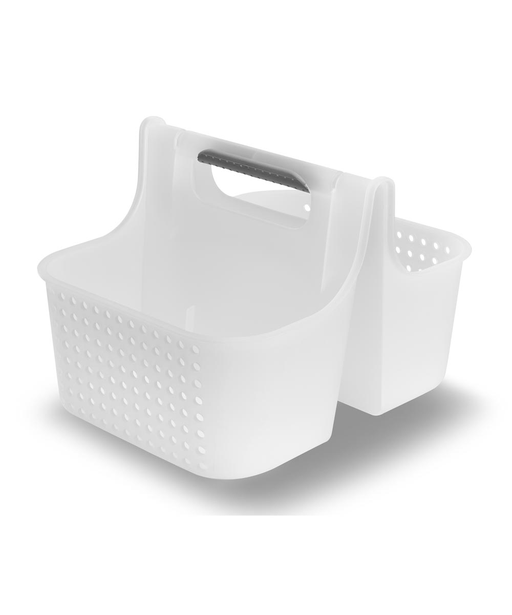 Large Soft-Grip Tote, Frost