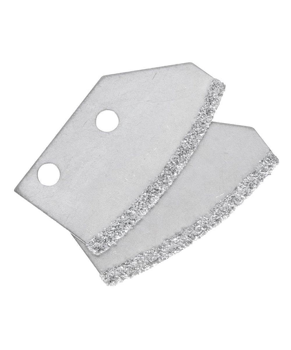 Professional Carbide Grout Saw Replacement Blades, 2 Pack